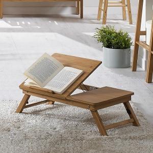 원목 노트북테이블 접이식테이블 독서대 침대테이블