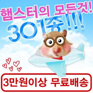 햄스터용품301종/사료/간식/집/장난감/베딩/쳇바퀴/볼