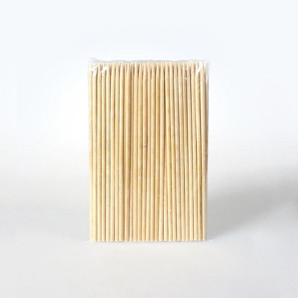 꼬치 핫바/대나무꼬지 5.0mm x 25cm -100개/D230