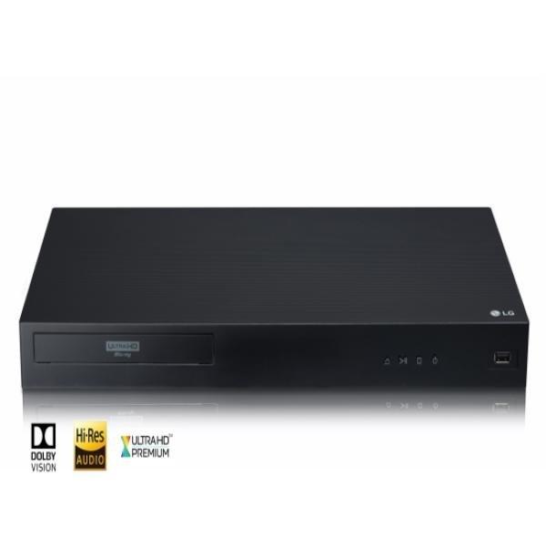 LG전자 블루레이 플레이어 UBK90 4K UHD 돌비비전 스트리밍 콘텐츠ARA