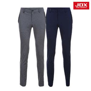 (현대Hmall) JDX  남성 요크 펀칭 포인트 멜란지 팬츠 2종 택1 (X1PMPTM04)