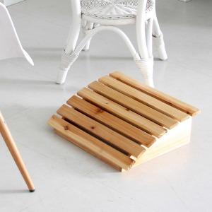 원목 발받침대 의자받침 발지압 풋레스트 발판 스툴