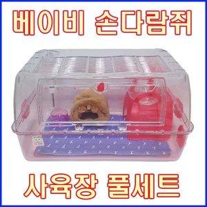 손다람쥐고급사육장세트/손다람쥐장/다람쥐사육장