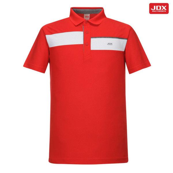 X1PM-TSM41 남성 허니콤절개배색티셔츠