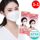 초미세먼지 KF94마스크 황사 어린이 (아동용_50매)