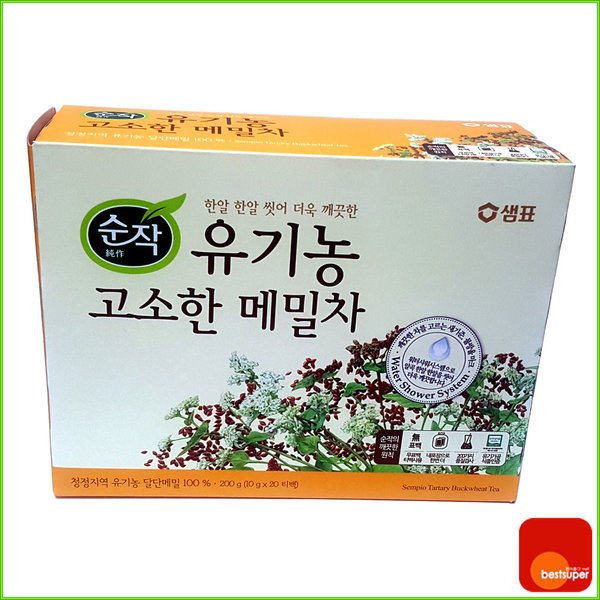 곡물차/침출차/순작 유기농 메밀차 60g/40티백