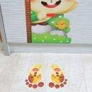 조인컴퍼니 야광발바닥스티커 시리즈1 놀이방꾸미기