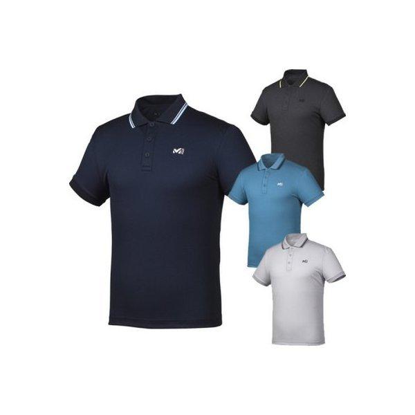 밀레(MILLET)  남성용 (이월상품 가격인하)제네럴3 카라 티셔츠( MVNUT405 )(갤러리아)