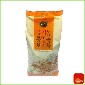곡물차/침출차/순작/유기농/통알곡/보리/1kg