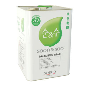 노루페인트 순앤수 100 내부용 18L 백색 무광 1말