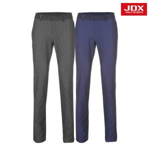 JDX  남성 오비 배색 X-고리 패턴 팬츠 2종 택1 (X1PMPTM07)