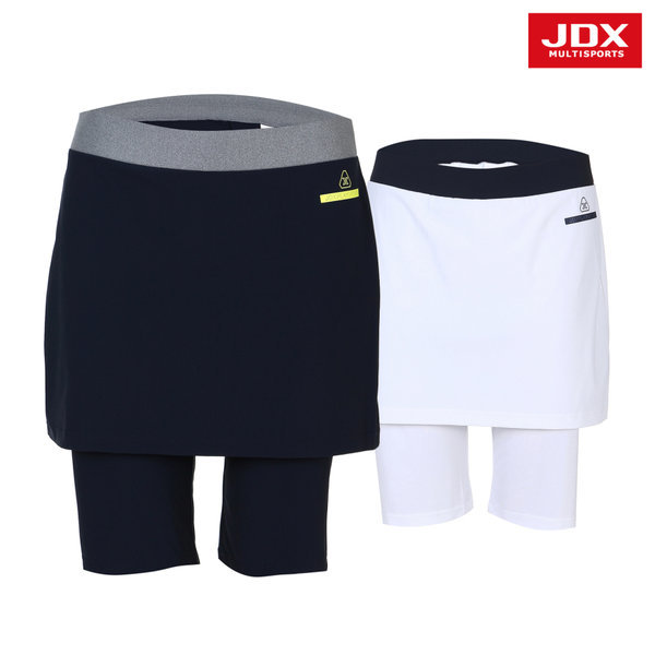 JDX  여성 여성플리츠 5부 치마레깅스 2종 택1 (X3NMPSW07)