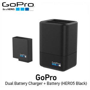 Gopro공식대리점  HERO5/6/7 Black 듀얼 충전기+ 배터리