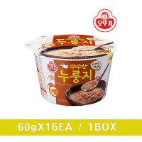 오뚜기 구수한누룽지(컵) 60g (12개)