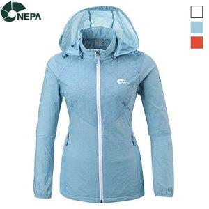 (AK플라자) 네파  레제로 방풍 자켓 (여성) 3중택 1 - 7D40634
