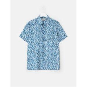 블루 에어 도트 하와이안 반팔 셔츠 (RY8465N53P)