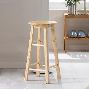 원목 홈바의자/화장대의자/스툴/식탁의자