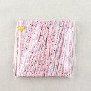 제빵 포장끈 철사끈/10cm 종이빵끈 흰색글씨 -1개/S357