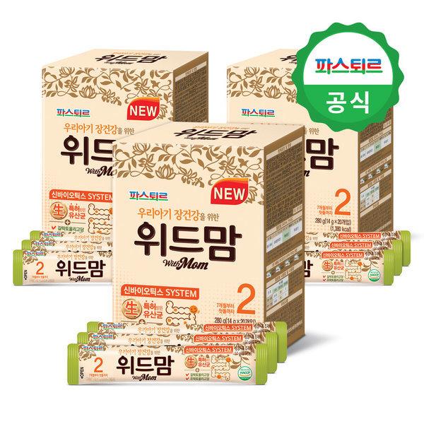 파스퇴르 위드맘 스틱분유 2단계 14gx60봉