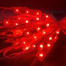 간판 테두리 조명 / 12V LED 3구모듈 _6.6cm 빨강