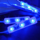간판 테두리 조명 / 12V LED 3구모듈 _6.6cm 파랑