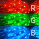 간판 테두리 조명 / 12V LED 3구모듈 _6.6cm RGB