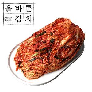 (국산) 올바른 포기김치 10kg HACCP인증 국산재료