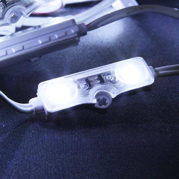 간판 테두리 조명 / 12V LED 2구모듈 _3.8cm 백색