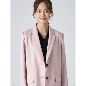 핑크 테일러드 칼라 셋업 재킷 (119311MY1X)