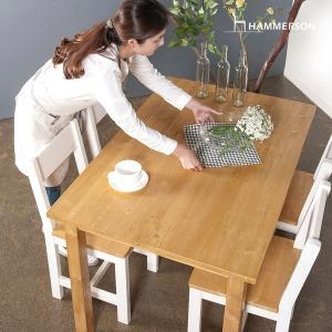네추럴 원목식탁/2인 4인용/카페/티/테이블/의자세트
