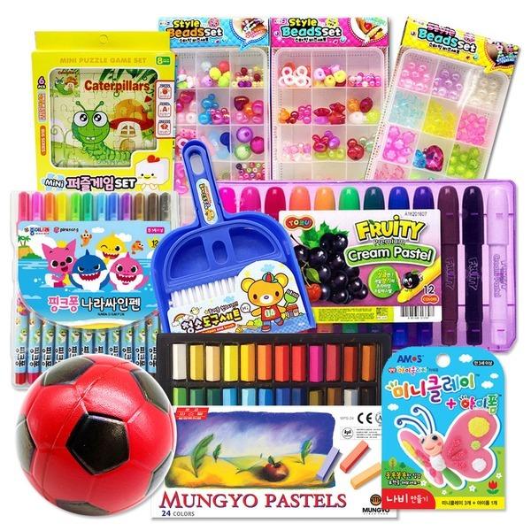 생일선물 비즈세트 문구세트 연필 어린이집 선물