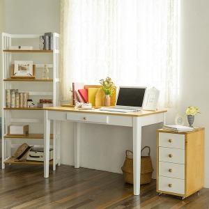 레몬 원목책상/컴퓨터 책상/스프러스