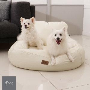 디팡 펫플레이빈백 - 라이트그레이 L 강아지방석