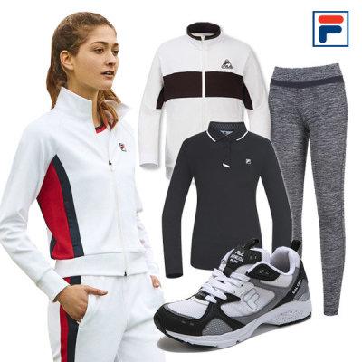 휠라 스포츠 트레이닝복/티셔츠/레깅스/운동화/슬리퍼