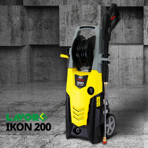 LAVOR 자흡식 고압세척기 IKON200 인덕션 모터 200바