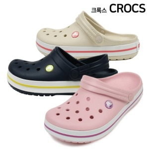 Crocs 남녀공용 크로밴드 클로그_11016-410 (네이비)