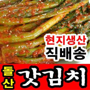 여수 돌산 갓김치 2kg 3kg 현지직배송 향긋하고알싸한