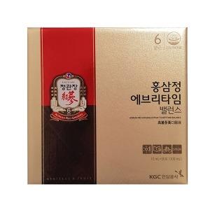 정관장 홍삼정 에브리타임 밸런스10mlx30포 홍삼액