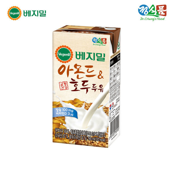 아몬드와 호두 베지밀(팩) 190ml 96