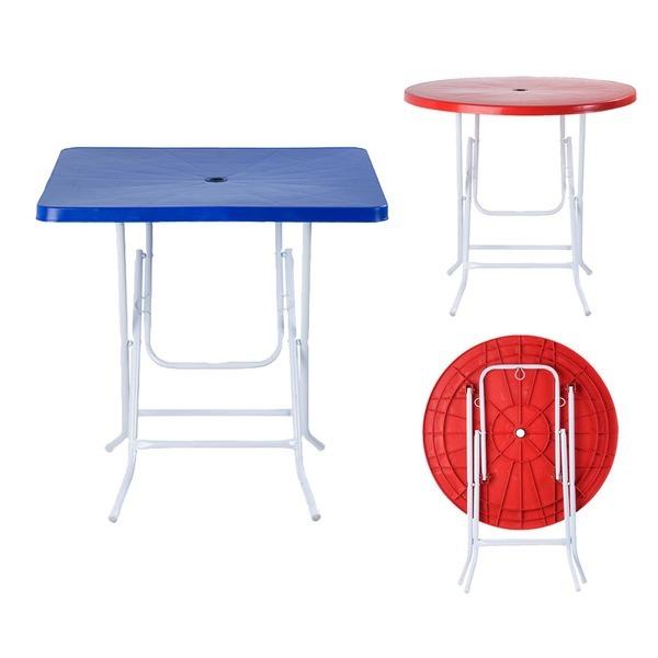 플라스틱 파라솔 포장마차 편의점 테이블 야외 행사용