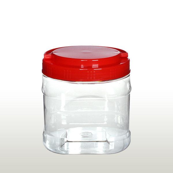 액젓통 젓갈통/식품용기 1.5L 사각 -1개/M252(D6)