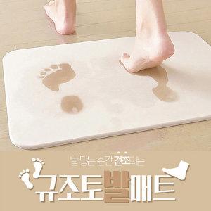 정품 사라사라 규조토 발매트 L사이즈 + 사포 증정