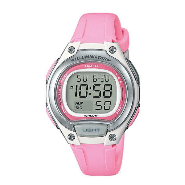 카시오정품 LW-203-4A 여자 학생 알람전자손목시계