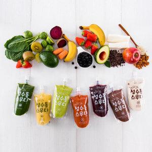 (다신샵) 성수동스무디 3일 절식 9팩 체중관리 식사