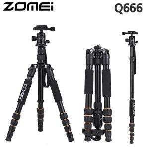 정품 Q666 볼헤드 카메라 삼각대 전문가용 여행용