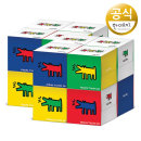 키스해링 큐브 미용티슈 230매 8입 2팩