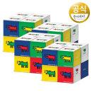 키스해링 큐브 미용티슈 230매 8입 4팩