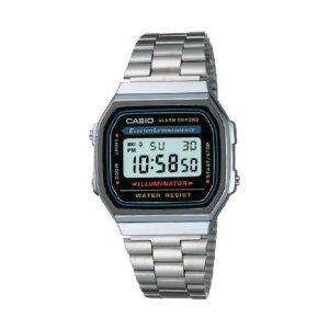 LRKM 전자 메탈 A168WA-1 카시오 빈티지 시계