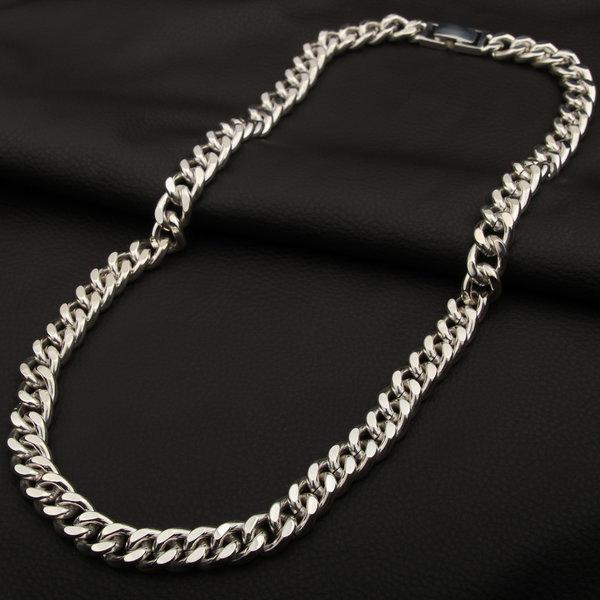 남자 실버 체인 은목걸이 11mm 60cm 44.5돈
