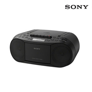 포터블 카세트 CD플레이어 CFD-S70 블랙